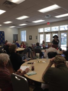 The Pulpwood Queen Speaks to Silver Leos Writers Guild at Texas A & M in Commerce, Texas!
